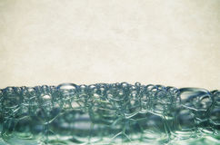Water bubbles royalty free stock image