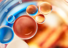 Water bubbles background Stock Photos