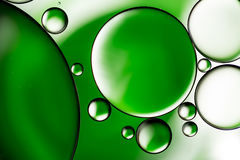 Water bubbles background Royalty Free Stock Images