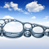 Water bubbles Royalty Free Stock Images