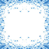 Water bubbles in a frame Royalty Free Stock Photos