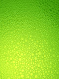 Water bubbles, green fresh background. Royalty Free Stock Photo