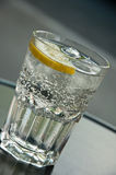 Water bubbles with Lemon Stock Images