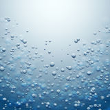 Water with Bubbles Royalty Free Stock Image