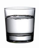 Water and Buble. Glass of Water and Buble Stock Image
