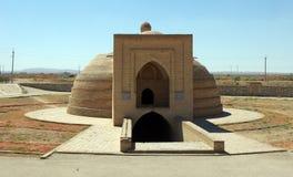 Water building in Uzbekistan. Royalty Free Stock Image
