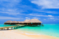 Water bungalows Royalty Free Stock Photography