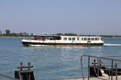 Water bus called Vaporetto in VENICE Royalty Free Stock Images