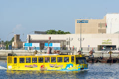 Water bus Dubai Stock Image
