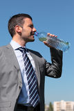 Water for businessman Stock Images