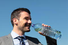 Water for businessman Stock Photos