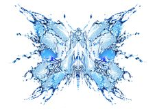 Water butterfly Stock Photos