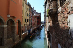 Water canal in Venice Royalty Free Stock Photography