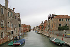 The water canal in Venice Royalty Free Stock Photography