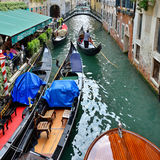 Water canal in Venice Royalty Free Stock Image