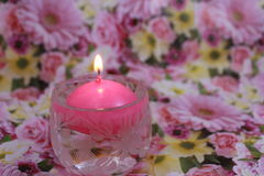 Water candle Royalty Free Stock Photos