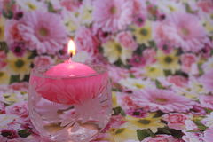 Water candle Stock Images