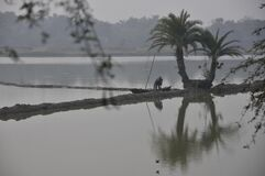 water canvas at rural west bengal india