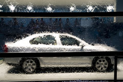 Water And Car Royalty Free Stock Photos