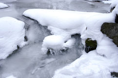 Water of Carpathian mountain Royalty Free Stock Photography