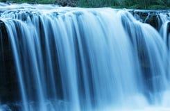 Water cascade. On Supai river,USA Stock Image
