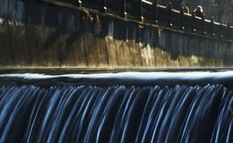 Water cascade Stock Photo