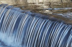 Water cascade Royalty Free Stock Image