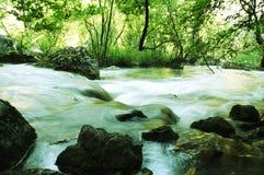 Water cascade Stock Photography