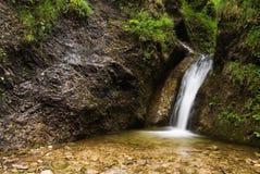 Water cascade. Fresh water cascade (ideal for backgorund Stock Images