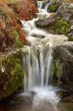 A water cascade. In spain Royalty Free Stock Photos