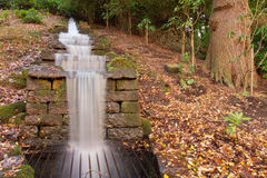 Water Cascade at Chatsworth House Stock Photography