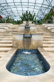 Water Cascade. Feature with granite and ceramic tile Royalty Free Stock Photos