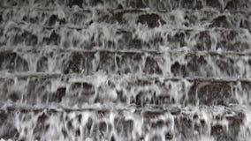 Water cascade stock video