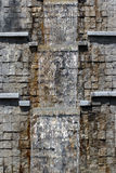 Water cascade in a park Stock Images