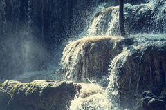 Water cascade Stock Images