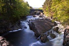 Water Cascades at Invermoriston Stock Image