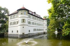 Water Castle Bad Rappenau Royalty Free Stock Images