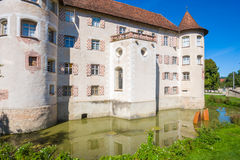 The water castle of Glatt Royalty Free Stock Images