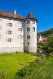 The water castle of Glatt Stock Image