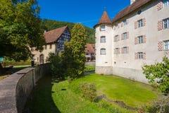 The water castle of Glatt Stock Photo
