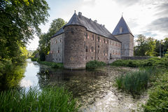 Water castle haus kemnade nrw germany Royalty Free Stock Photo