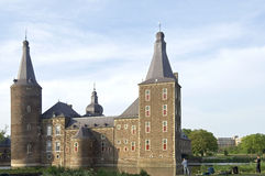Water Castle Hoensbroek, Limburg, Netherlands Royalty Free Stock Photo