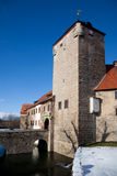 Water castle Kapellendorf Royalty Free Stock Photo