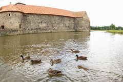 Water Castle Svihov, Czech Republic royalty free stock photo