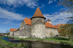 Water castle Svihov 1, Czech Republic Stock Image
