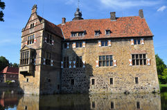 Water castle vischering, germany Royalty Free Stock Photos