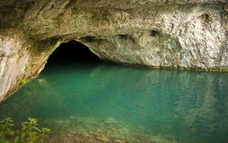 Water cave Royalty Free Stock Photos