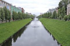 Water channel Bulak in Kazan Stock Photos