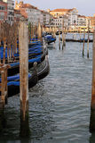 Water channel in Venice Royalty Free Stock Photography