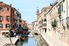 Water channel in Venice Royalty Free Stock Image
